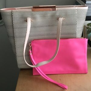ebf6b18809 Ted Baker London Bags | Ted Baker Natasha Woven Large Shopper | Poshmark